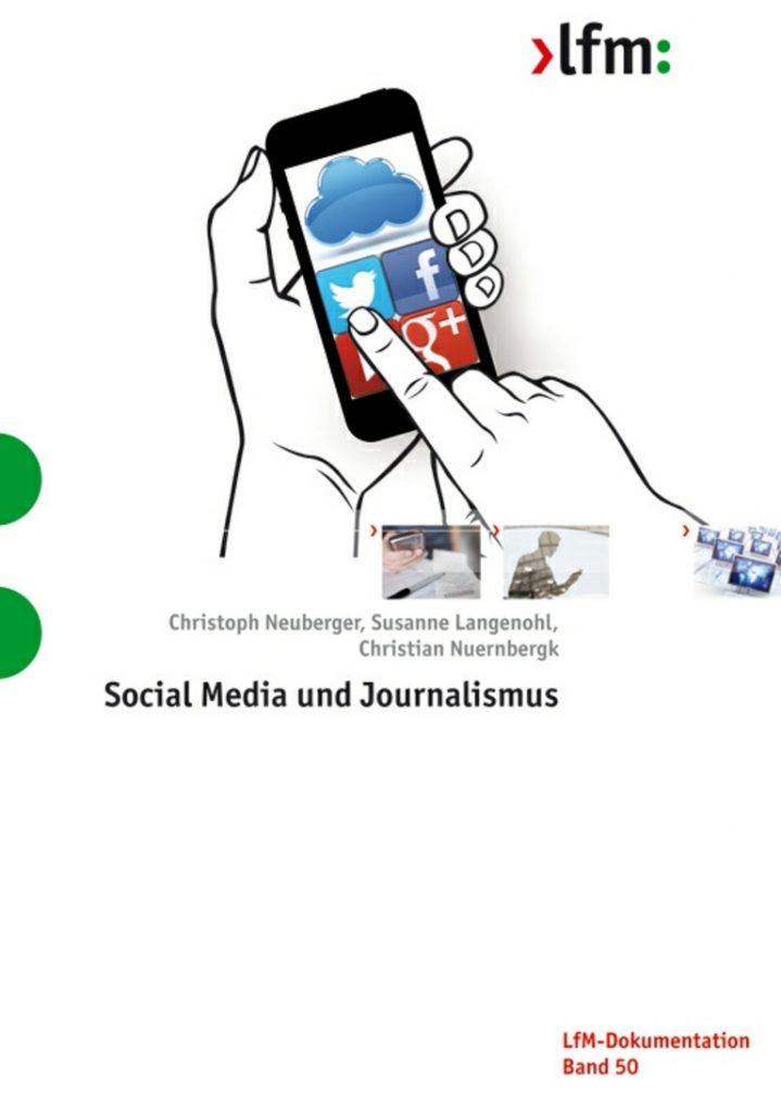 """Titelbild Studie """"Social Media und Journalismus"""""""