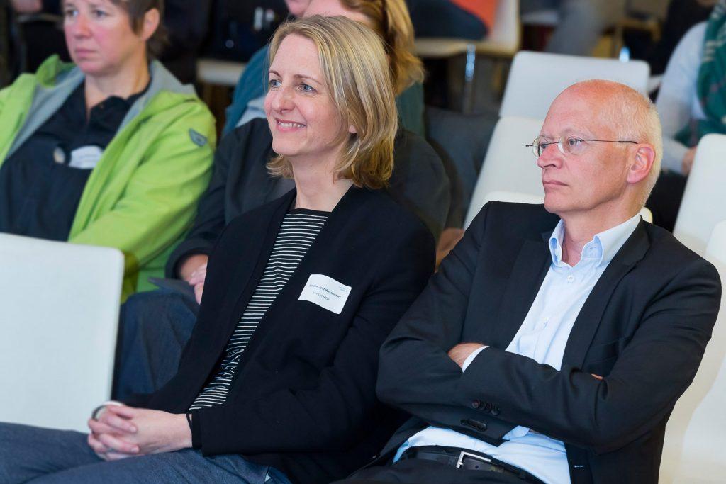 Simone Jost-Westendorf und Dr. Jürgen Brautmeier v.l., Regionaltag Köln