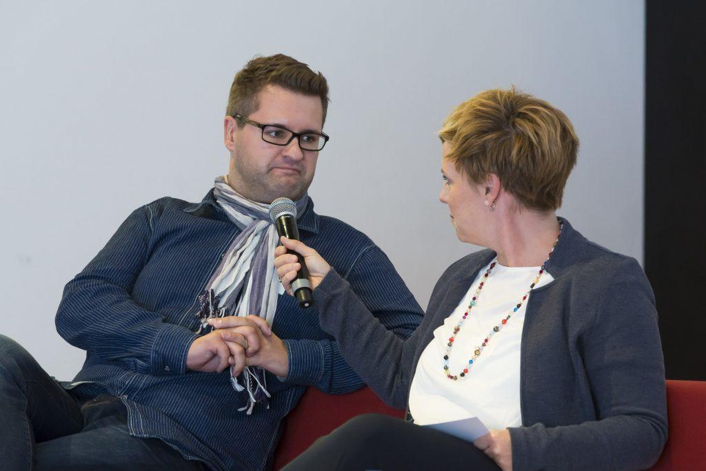 Andrea Hansen im Gespräch mit Timo Stoppacher, Regionaltag Köln