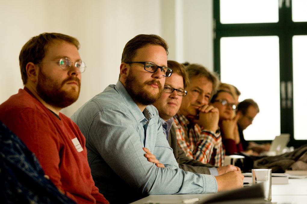 """Workshop-Teilnehmer, Praxistag """"Geld verdienen im Online-Journalismus"""""""