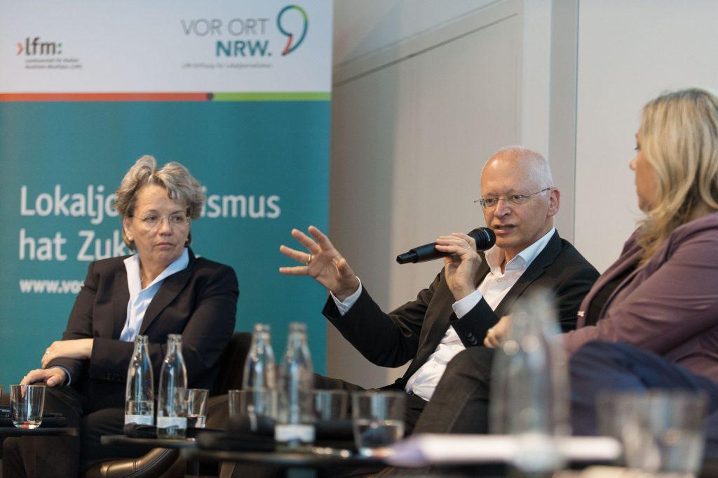 Dr. Marianne Ravenstein und Dr. Jürgen Brautmeier v.l., Regionaltag Münster