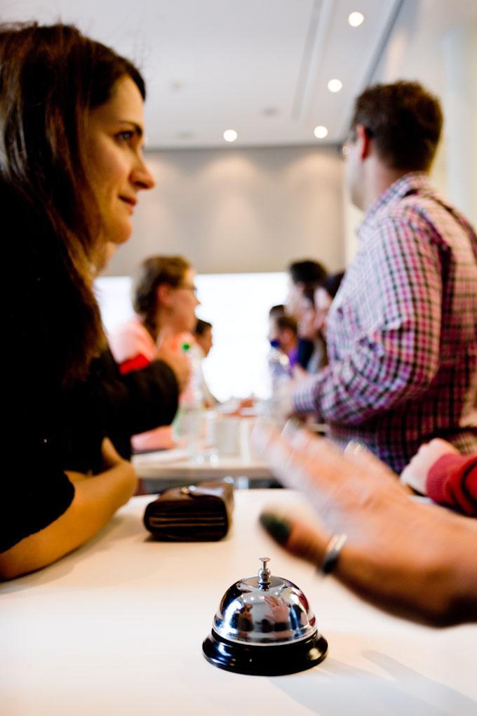 """Speed-Dating, Praxistag """"Geld verdienen im Online-Journalismus"""""""