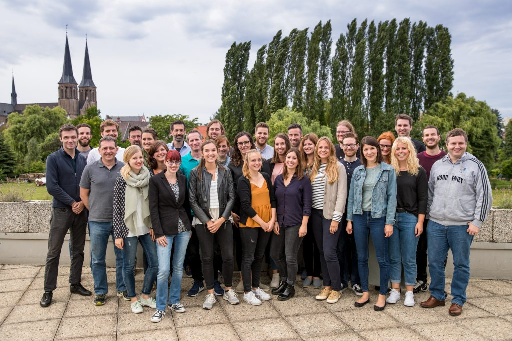 Gruppenbild Merkurist Team