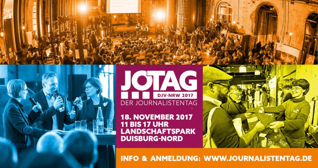 Collage Journalistentag NRW Publikum Speaker Workshop