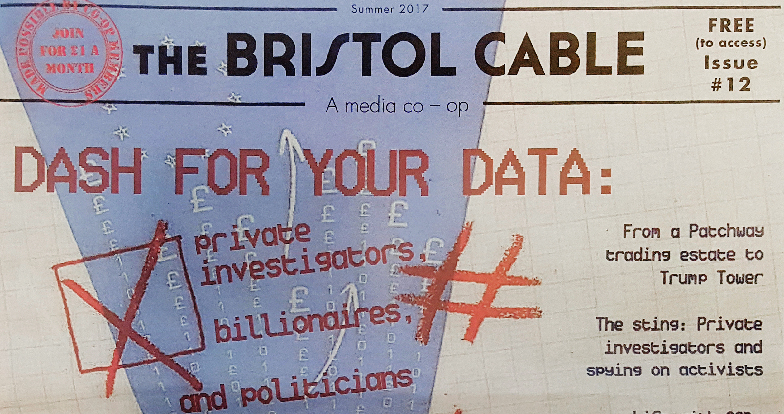 The Bristol Cable Cover Ausgabe 12