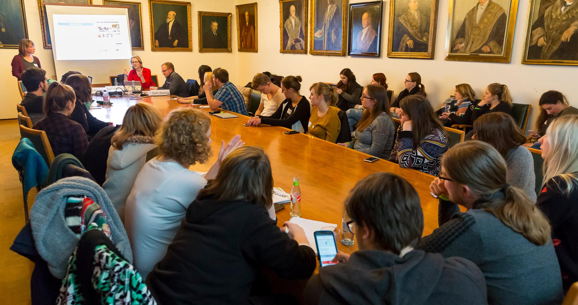 Campus Radio Tag 2017 - Workshop Wege in die Selbständigkeit: Journalisitische Startups