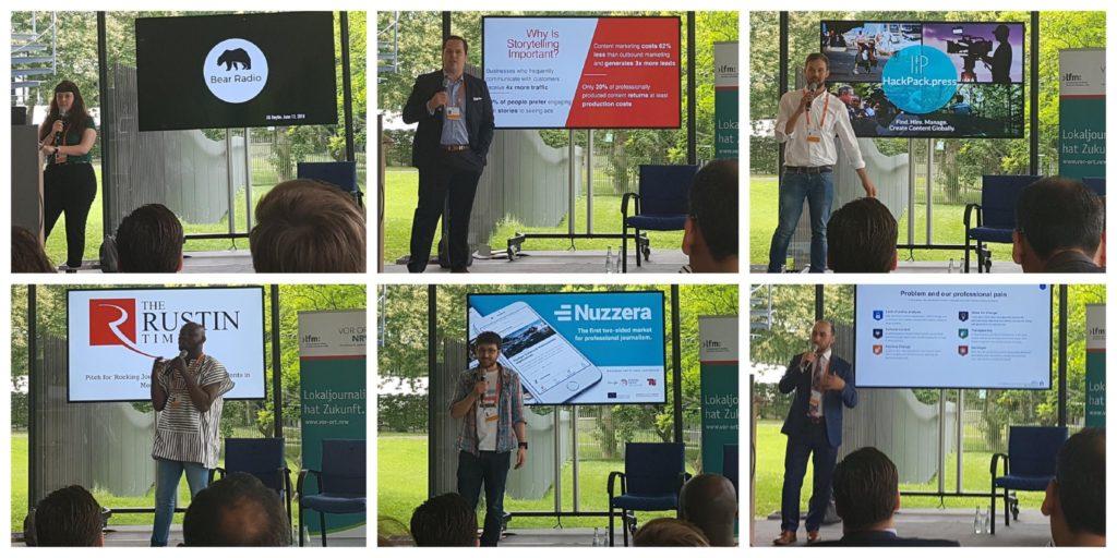 Startup Pitch Global Media Forum