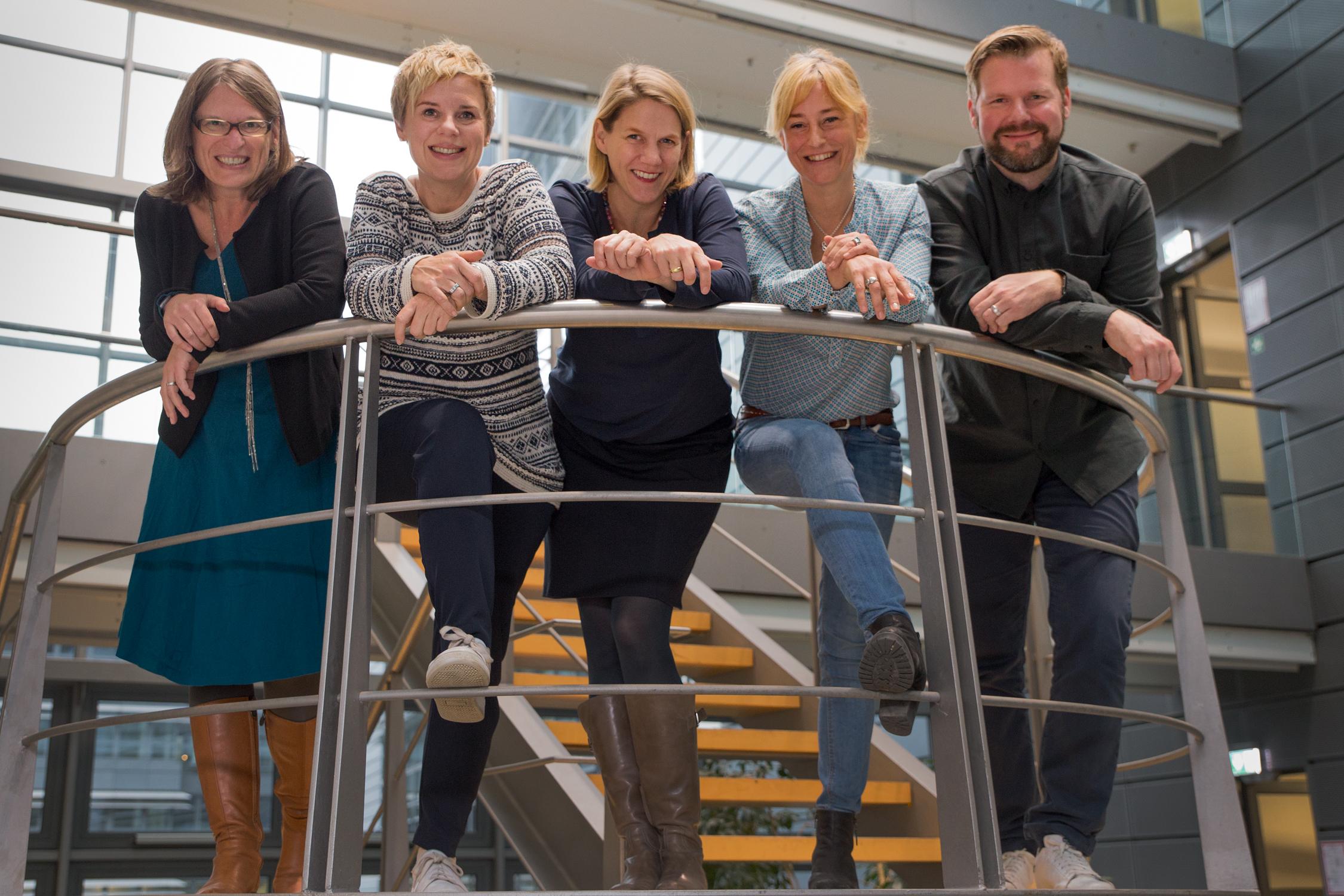 Teamfoto der Jury des Vor Ort NRW-Preises.