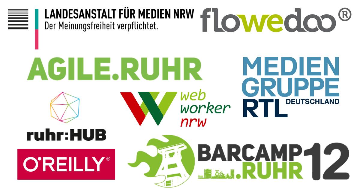 Die Logos der Partner.