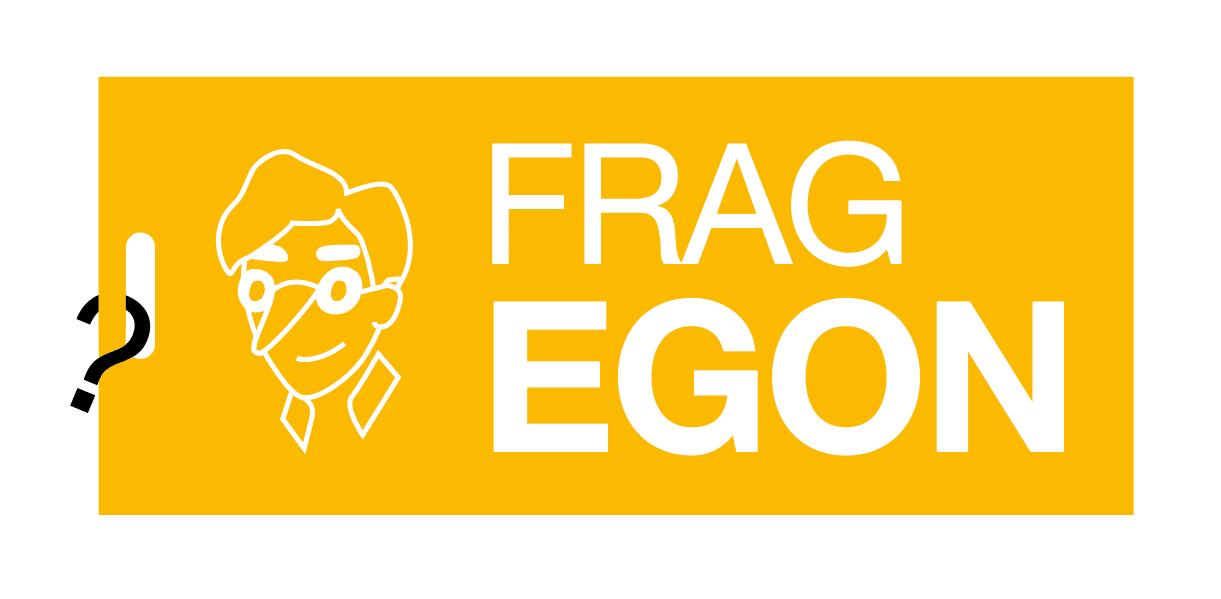 Das Titelbild von Frag Egon.