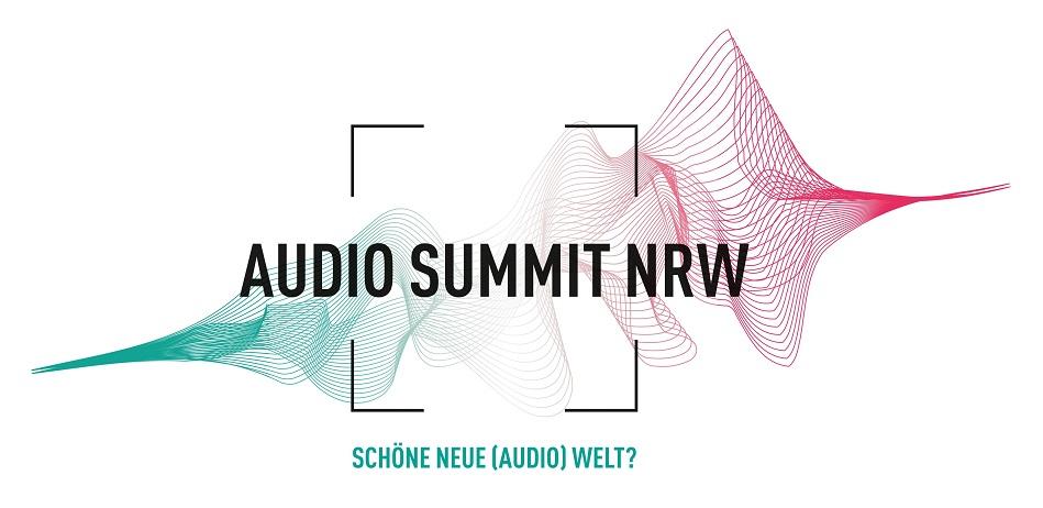 Das Titelbild des Audio Summit NRW.
