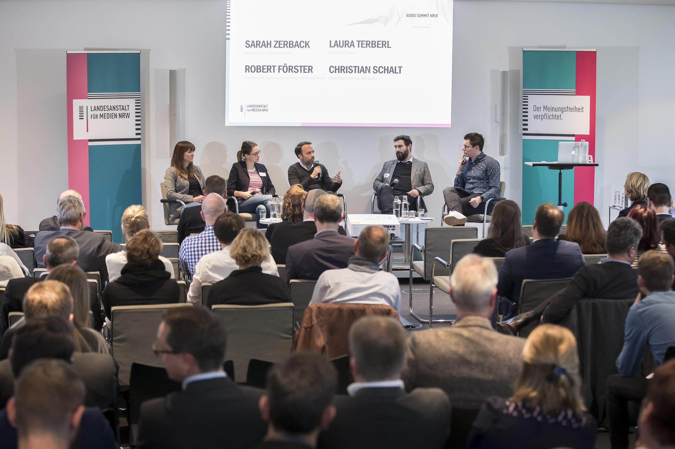 Audio Summit NRW: Schöne neue (Audio) Welt?