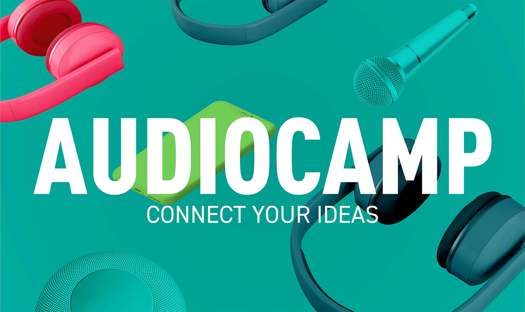 Visual zum Audiocamp 2020.