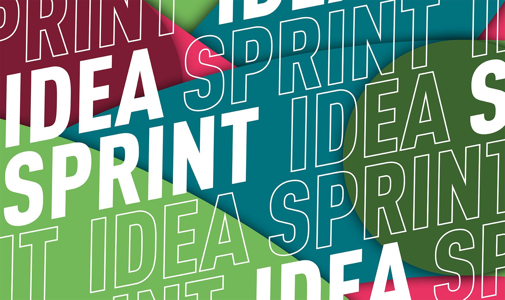 Visual zum Idea Sprint 2020.