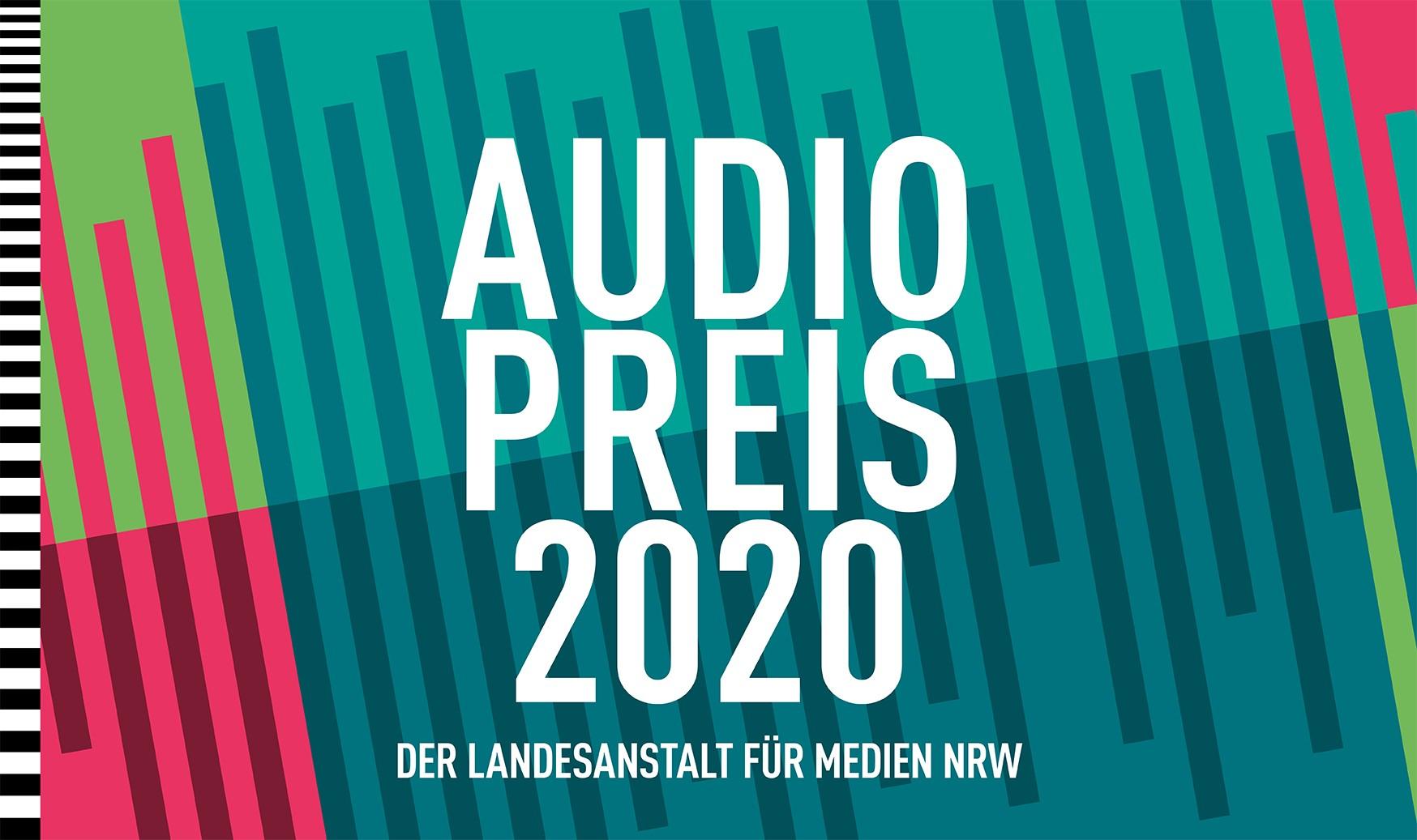 Audiopreis 2020 - Jetzt bewerben!