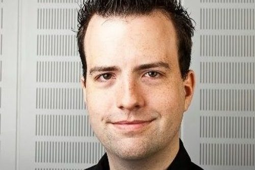 """Podcaster Marcel Stuht im Interview während des Audiocamps: """"Podcastliebe – nur echt mit RSS-Feed."""""""