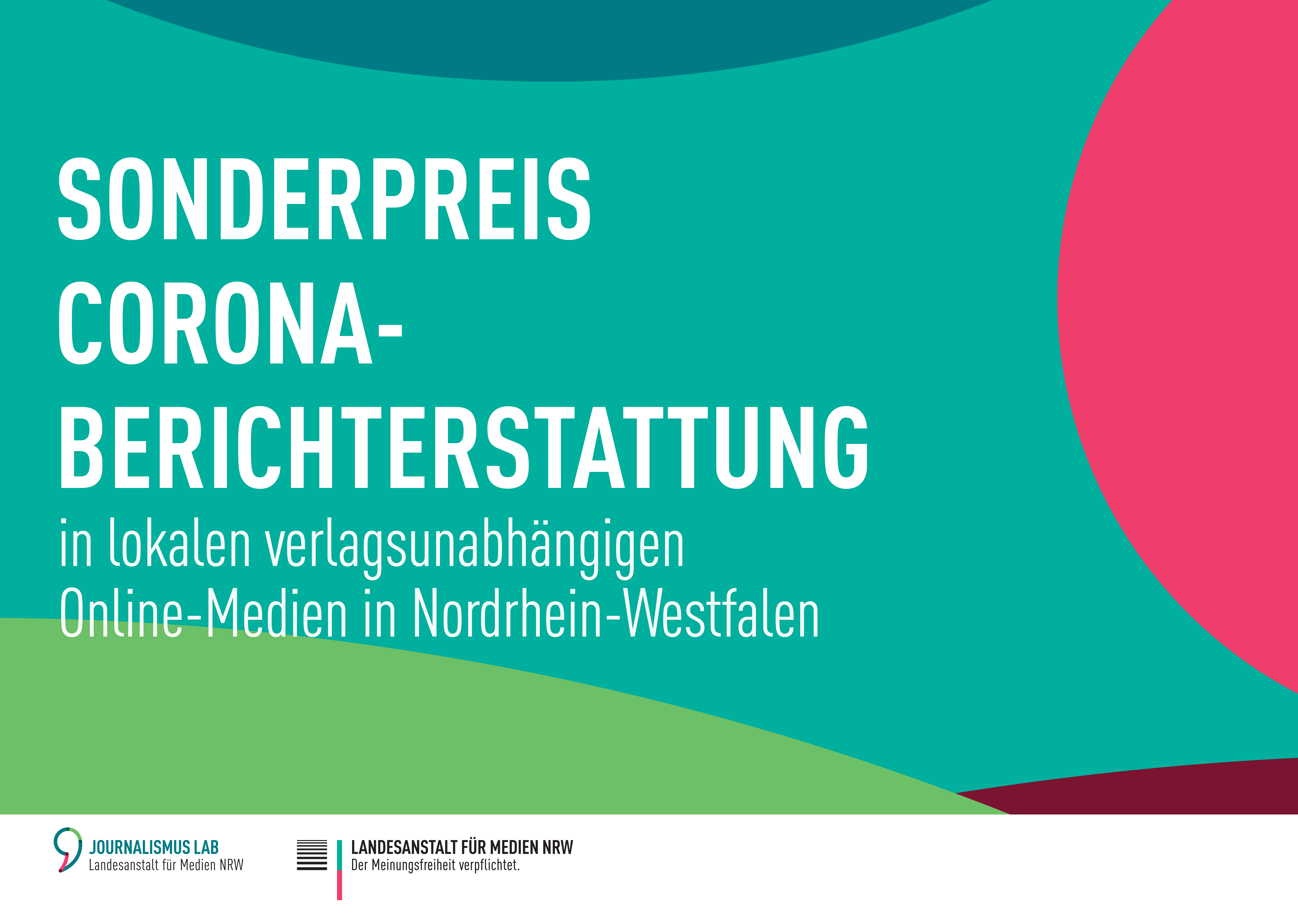 """Gewinnerinnen und Gewinner des """"Sonderpreises für lokale Corona-Berichterstattung"""" stehen fest"""