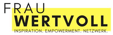 Logo von Frau Wertvoll.