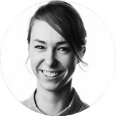 Profilbild Julia Gerner schwarz weiß